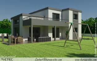 maison toit terrasse dijon sud etec