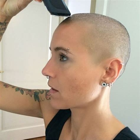 bald extreme haircut 496 best bald women 1 images on pinterest bald women hair cuts and haircut styles