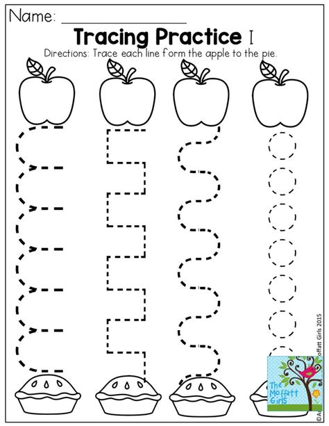 printable preschool activities tracing practice and tons of other fun pages for back to