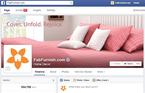 How FabFurnish Increased its Revenue by 10X Using Facebook
