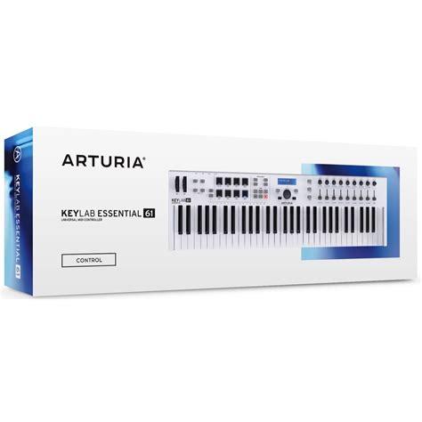 Arturia Keylab 61 arturia keylab 61 essential keyboard controller 61 key new