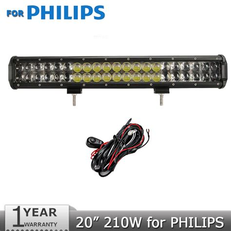 Philips Led Light Bar 20 Inch 210w For Philips Led Light Bar