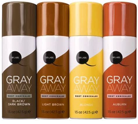 gray away root concealer gray away hair dye as seen on gray away root concealer fashion daily mag