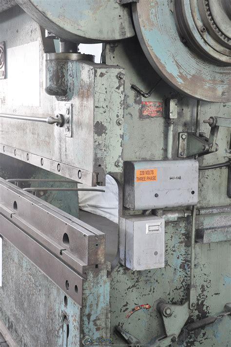 chicago mechanical clutch press brake sterling machinery