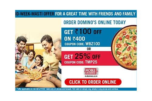 dominos kolkata coupons