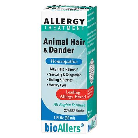 dander allergy bio allers animal hair and dander allergy treatment asthma kits