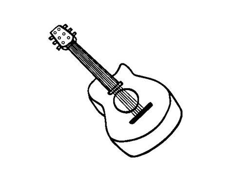 Collection of Imagenes Para Dibujar Una Guitarra | Dibujo De ...