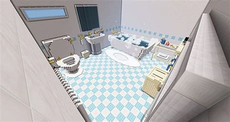 how to make a bathtub the bathroom server build pop reel minecraft project