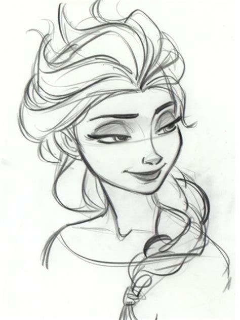 Elsa The Snow Queen Art Illustration Animation Princess Elsa Drawing