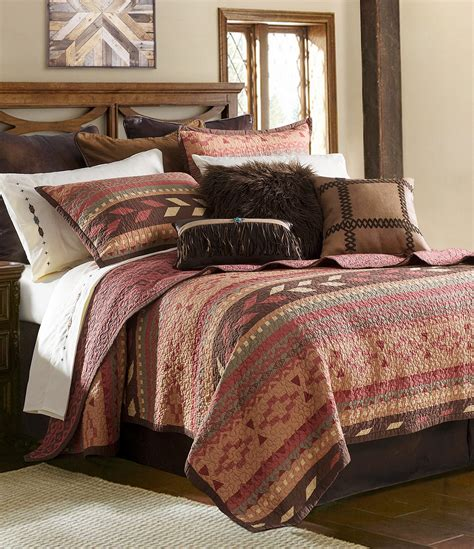 hiend accents broken arrow quilt mini set dillards