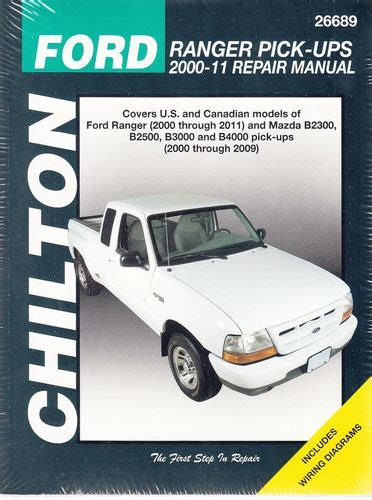 ford ranger 93 11 mazda b2300 b2500 b3000 b4000 94 09 haynes repair manual haynes manuals ford ranger mazda b2300 b2500 b3000 b4000 pick ups 2000 2011 workshop manual
