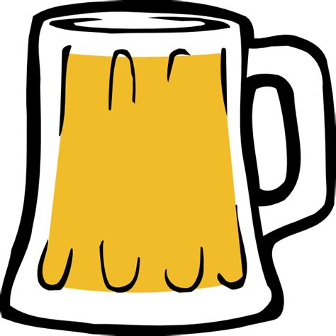 beer cartoon black and free to use public domain beer clip art