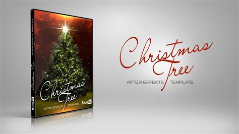 templates after effects free christmas christmas tree after effects templates www bluefx net