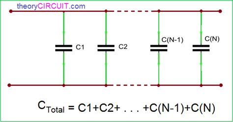 capacitor circuit parallel series and parallel