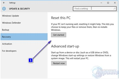 windows resetting your pc use the windows 10 reset your pc feature