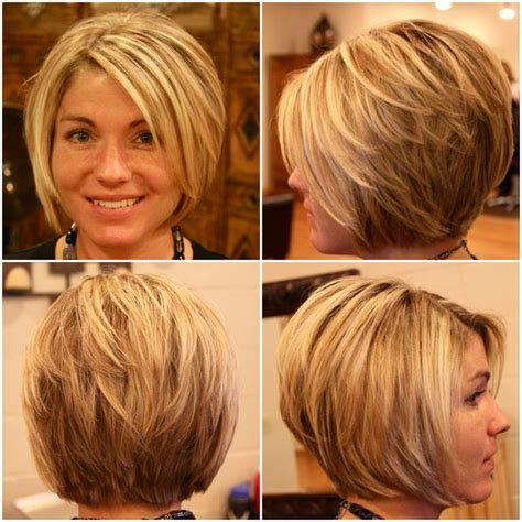 bob haircuts cut short into the neck best 25 longer stacked bob ideas on pinterest inverted