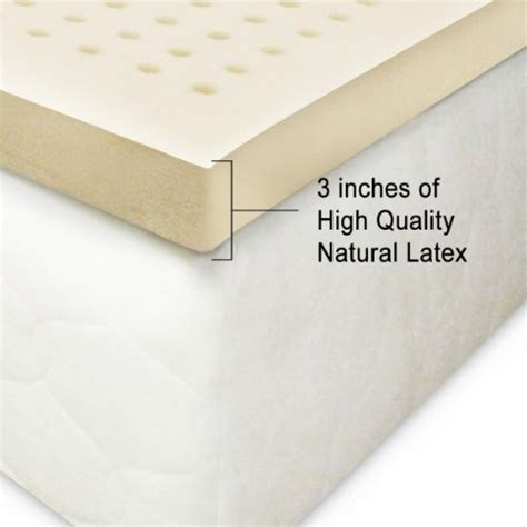 latex bed topper best 3 latex mattress toppers reviews advice elite rest