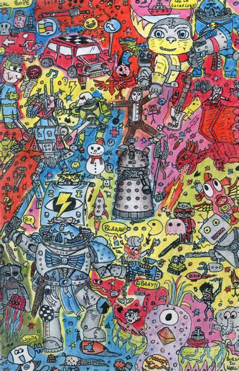 doodle drawings images mega doodle coloured by wooper on deviantart