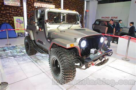 mahindra jeep 2016 mahindra thar daybreak edition body kit costs inr 9 6 lakhs