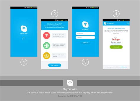 wifi app for android skype wifi android app by dxgraphic on deviantart