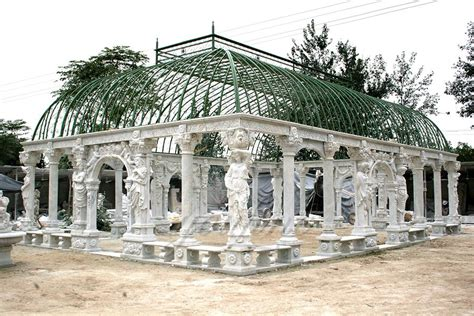 Gartenpavillon Sale by China Carved Marble Sculptures Fountains
