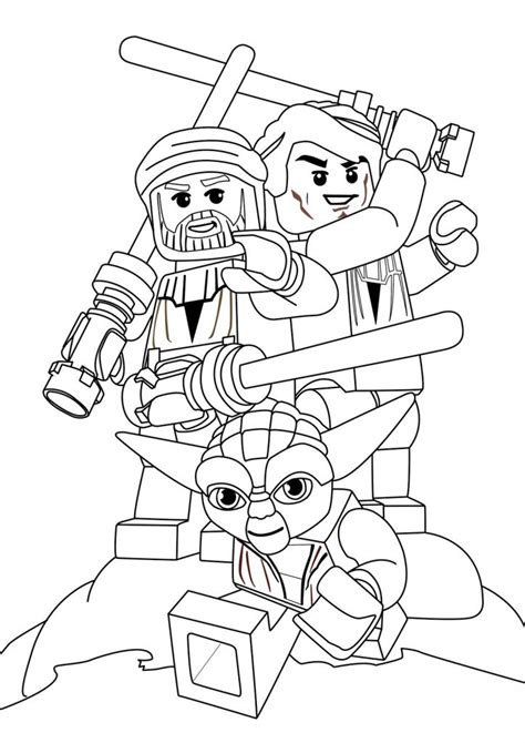 lego yoda coloring pages star wars coloring pages free printable star wars
