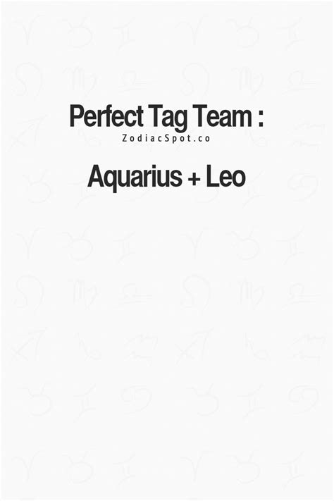 25 best ideas about leo and aquarius on pinterest
