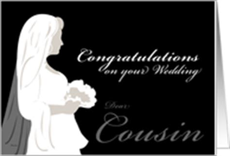 Wedding Congratulations For Cousin by Wedding Congratulations Cards For Cousin From Greeting