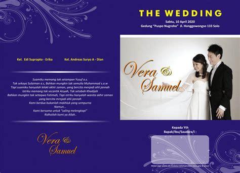 desain undangan pernikahan foto template desain undangan pernikahan ultah khitanan