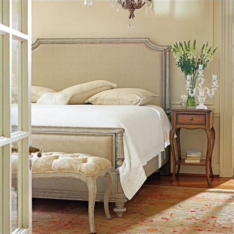 upholstered bedroom sets stanley furniture arrondissement palais upholstered bed 3