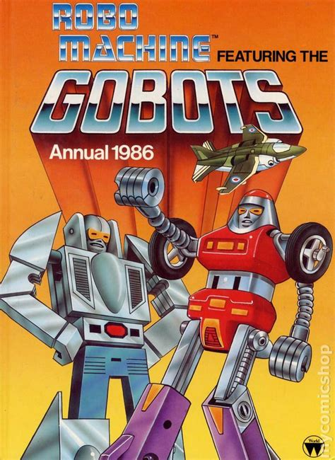 robo machine featuring the gobots annual 1986 1985 comic