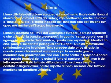 inno tedesco testo i simboli dell unione europea ppt scaricare