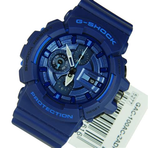 G Shock Blue casio g shock blue gac 100ac 2a gac100ac