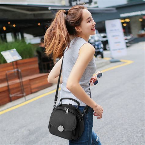 Sling Setelan 6 sling bag dual function oval big button model t1128 toko