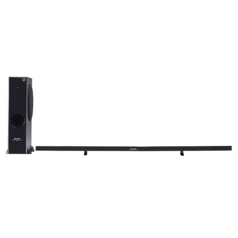 sharp refurbished sharp 2 1 channel slim sound bar home