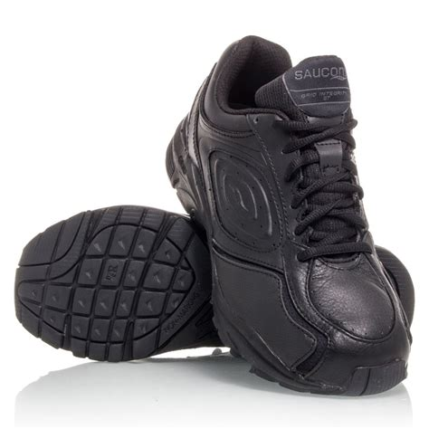 saucony grid integrity st womens walking shoes black
