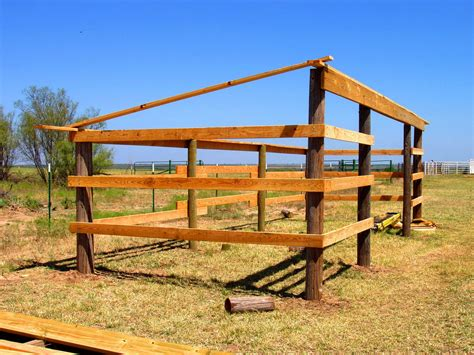 Beam X Front Of House by Next Free Lean To Horse Shed Plans Trony