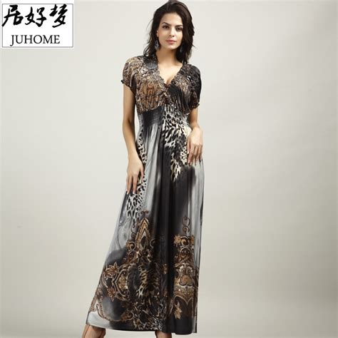 Promo Temurah Boho High Quality Ks 5xl plus size runway dress 2017 s clothes high