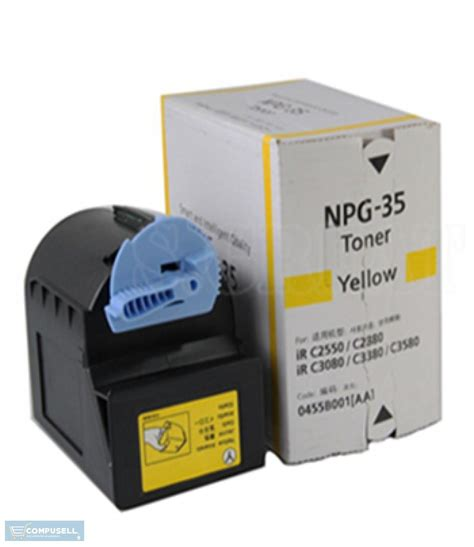 Toner Canon Npg 35 Calor canon npg 35 yellow toner cartridge buy canon npg 35