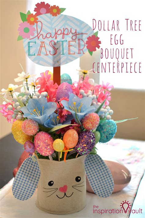 dollar tree egg bouquet centerpiece the inspiration vault