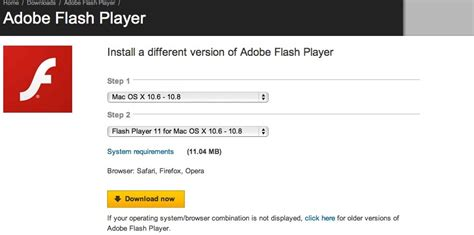 adobe flash player for mac enable flash player in the tor browser bundle on mac