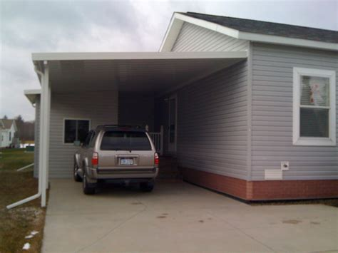 Cost Of Car Port by Carport Construction Costs Plans Free