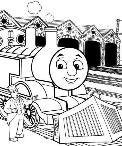 Thomas The Tank Engine Printables Az Coloring Pages Tank Engine Colouring Pages