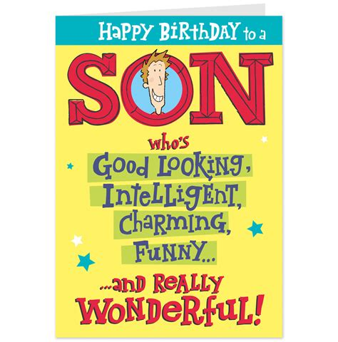 Birthday Cards For On Birthday Wishes For Son Photo And Happy Birthday For Son