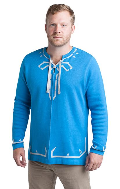 Sweater The Legend Of Breath Of The Hoodie breath of the link s tunic sweater thinkgeek