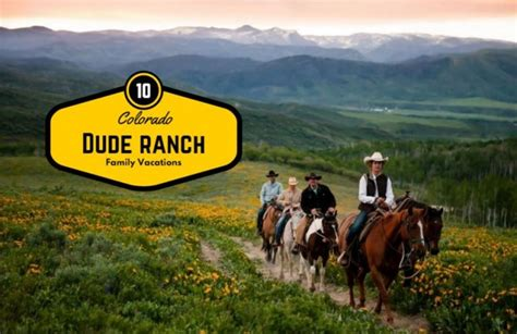 dude ranch 10 colorado dude ranch getaways for or early summer mile high mamas