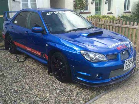 subaru hawkeye for sale subaru 2005 impreza wrx blue hawkeye car for sale