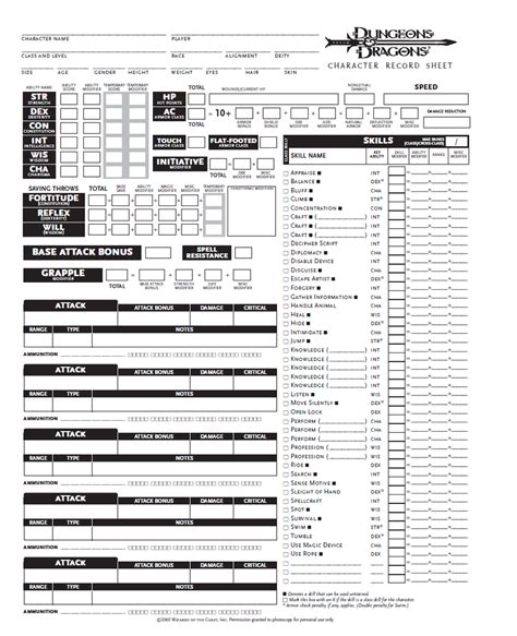 d d 3 5 spell card template blank dnd character sheet pg1 by seraph colak on deviantart