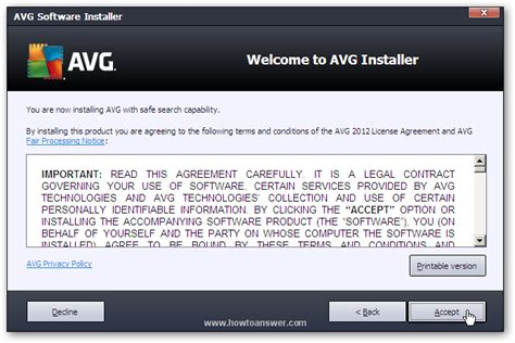 Download free software And Install Avg Antivirus Free ...