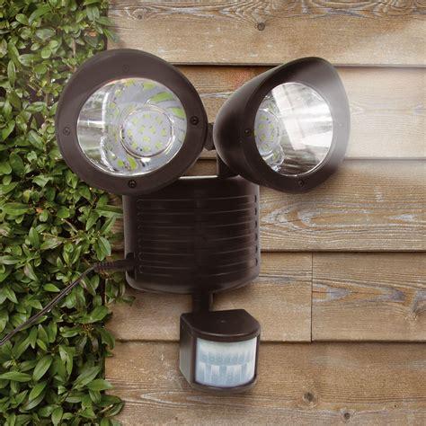 solar shed light with motion sensor solar pir motion sensor security floodlight shed l